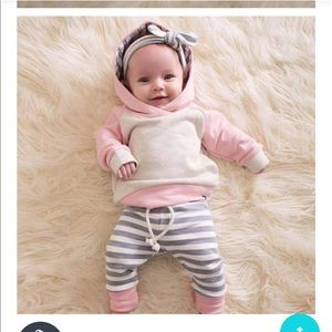 Baby warm winter outfit